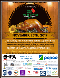 Ward 8 Wide Turkey Drive